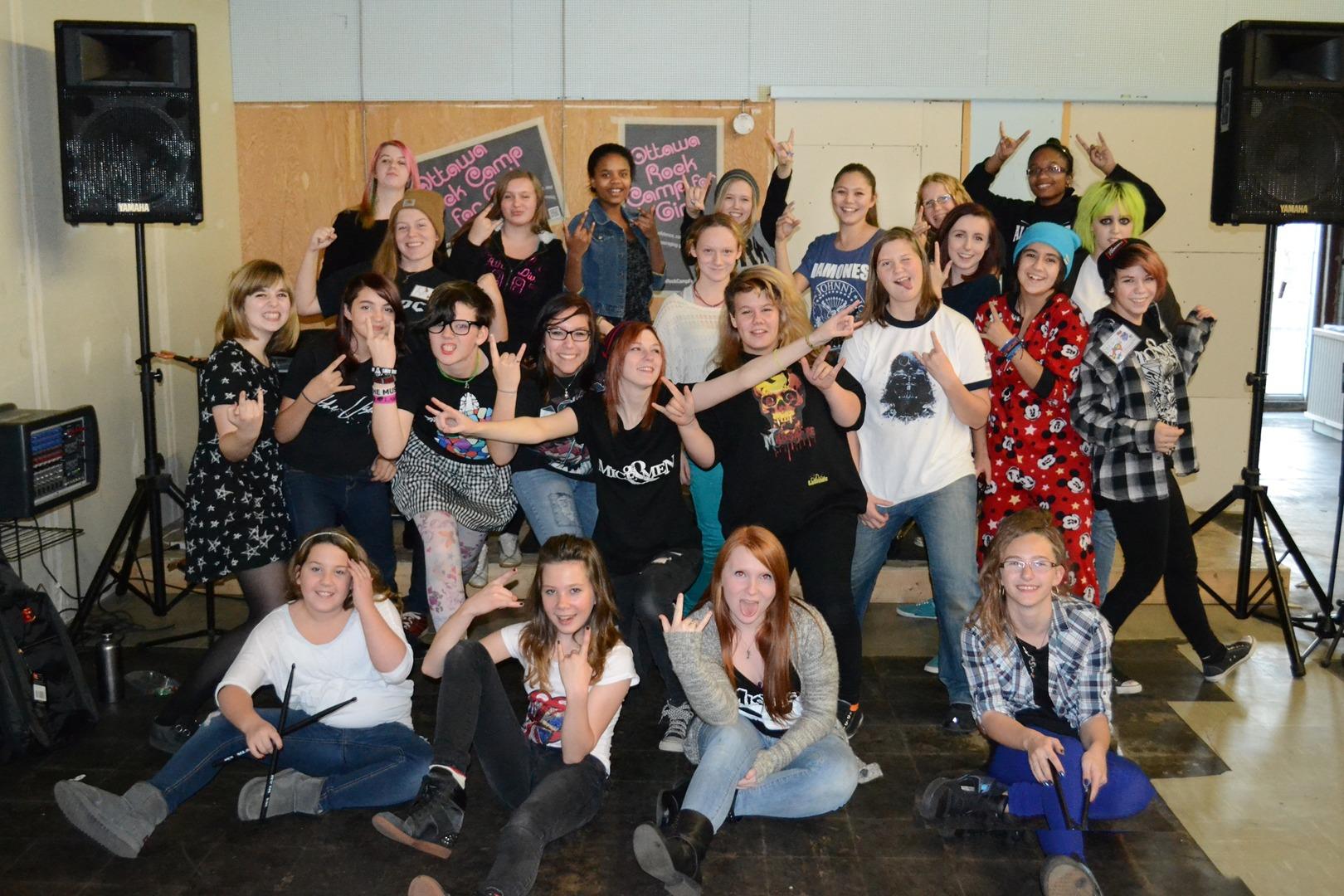February 2017 – Ottawa Rock Camp for Girls